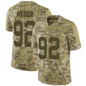 Youth Nike San Francisco 49ers Kerry Hyder Camo 2018 Salute to Service Jersey - Limited