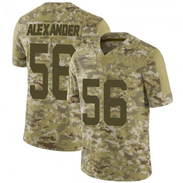 Youth Nike San Francisco 49ers Kwon Alexander Camo 2018 Salute to Service Jersey - Limited