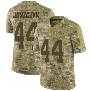 Youth Nike San Francisco 49ers Kyle Juszczyk Camo 2018 Salute to Service Jersey - Limited