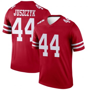 Youth Nike San Francisco 49ers Kyle Juszczyk Scarlet Jersey - Legend