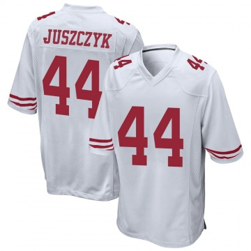 Youth Nike San Francisco 49ers Kyle Juszczyk White Jersey - Game