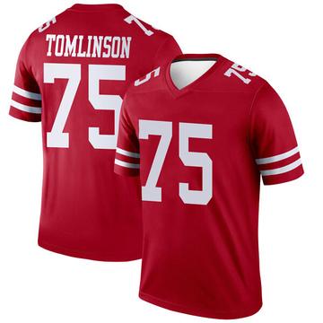 Youth Nike San Francisco 49ers Laken Tomlinson Scarlet Jersey - Legend