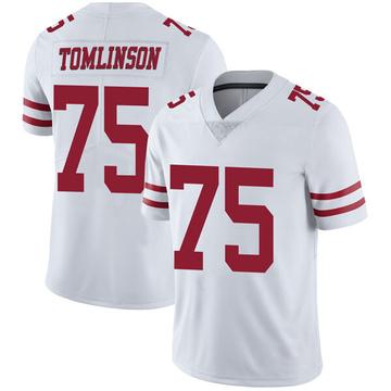 Youth Nike San Francisco 49ers Laken Tomlinson White Vapor Untouchable Jersey - Limited