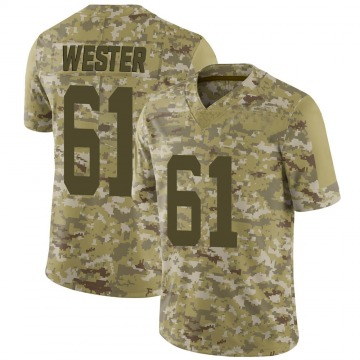 Youth Nike San Francisco 49ers Leonard Wester Camo 2018 Salute to Service Jersey - Limited