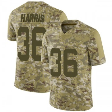 Youth Nike San Francisco 49ers Marcell Harris Camo 2018 Salute to Service Jersey - Limited