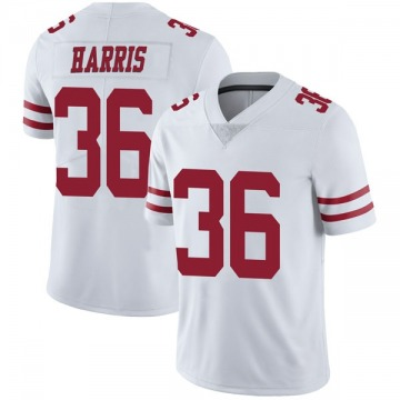Youth Nike San Francisco 49ers Marcell Harris White Vapor Untouchable Jersey - Limited