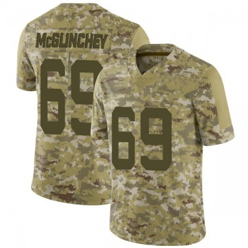 Youth Nike San Francisco 49ers Mike McGlinchey Camo 2018 Salute to Service Jersey - Limited