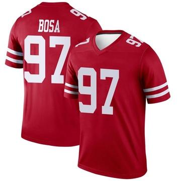 Youth Nike San Francisco 49ers Nick Bosa Scarlet Jersey - Legend