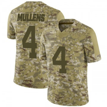 Youth Nike San Francisco 49ers Nick Mullens Camo 2018 Salute to Service Jersey - Limited