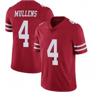 Youth Nike San Francisco 49ers Nick Mullens Red Team Color Vapor Untouchable Jersey - Limited