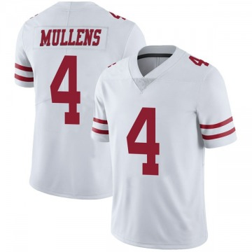 Youth Nike San Francisco 49ers Nick Mullens White Vapor Untouchable Jersey - Limited