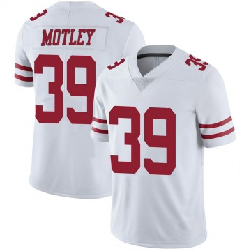 Youth Nike San Francisco 49ers Parnell Motley White Vapor Untouchable Jersey - Limited