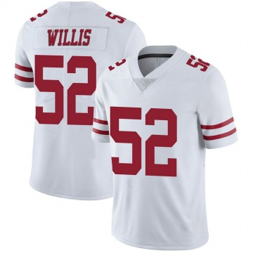 Youth Nike San Francisco 49ers Patrick Willis White Vapor Untouchable Jersey - Limited