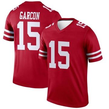 Youth Nike San Francisco 49ers Pierre Garcon Scarlet Jersey - Legend