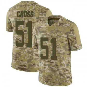 Youth Nike San Francisco 49ers Randy Cross Camo 2018 Salute to Service Jersey - Limited