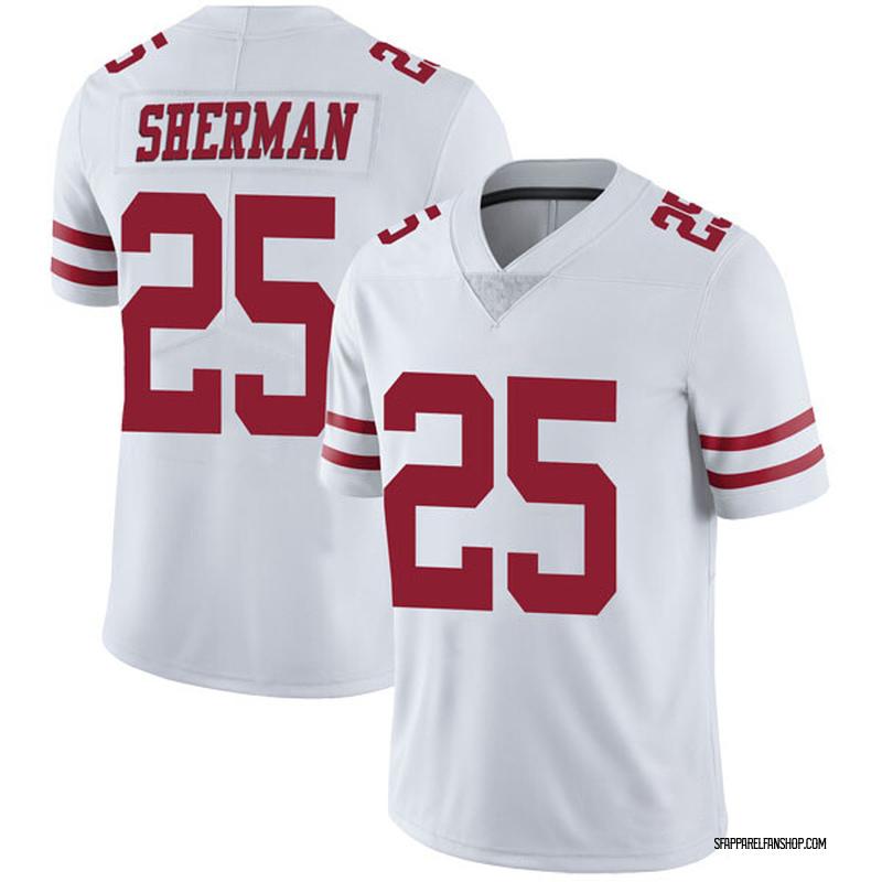 save off a519e 0ec3a Youth Nike San Francisco 49ers Richard Sherman White Vapor Untouchable  Jersey - Limited