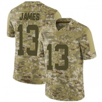 Youth Nike San Francisco 49ers Richie James Camo 2018 Salute to Service Jersey - Limited