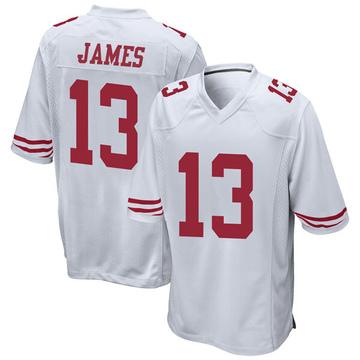 Youth Nike San Francisco 49ers Richie James White Jersey - Game