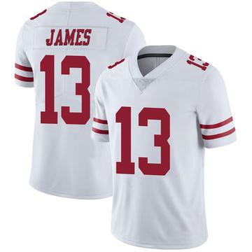 Youth Nike San Francisco 49ers Richie James White Vapor Untouchable Jersey - Limited