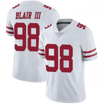 Youth Nike San Francisco 49ers Ronald Blair III White Vapor Untouchable Jersey - Limited