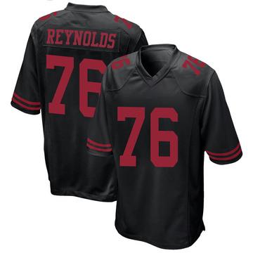 Youth Nike San Francisco 49ers Ross Reynolds Black Alternate Jersey - Game