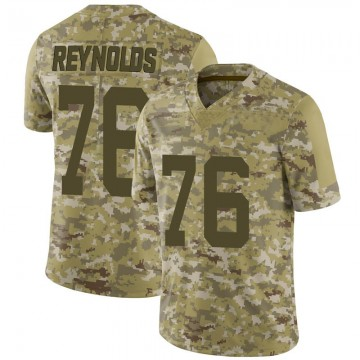 Youth Nike San Francisco 49ers Ross Reynolds Camo 2018 Salute to Service Jersey - Limited