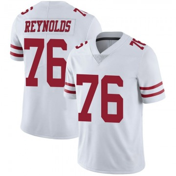 Youth Nike San Francisco 49ers Ross Reynolds White Vapor Untouchable Jersey - Limited