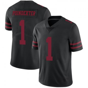 Youth Nike San Francisco 49ers Shawn Poindexter Black Alternate Vapor Untouchable Jersey - Limited