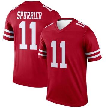 Youth Nike San Francisco 49ers Steve Spurrier Scarlet Jersey - Legend