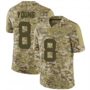 Youth Nike San Francisco 49ers Steve Young Camo 2018 Salute to Service Jersey - Limited
