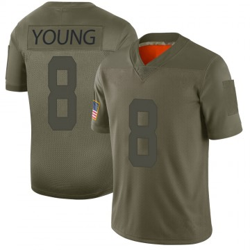 Youth Nike San Francisco 49ers Steve Young Camo 2019 Salute to Service Jersey - Limited