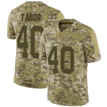 Youth Nike San Francisco 49ers Teez Tabor Camo 2018 Salute to Service Jersey - Limited