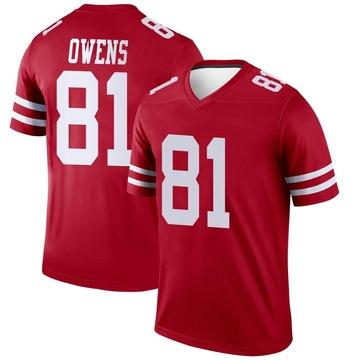 Youth Nike San Francisco 49ers Terrell Owens Scarlet Jersey - Legend