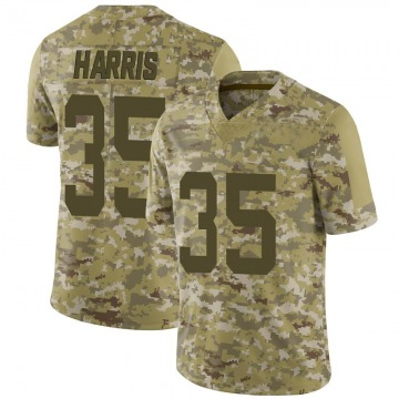 Youth Nike San Francisco 49ers Tim Harris Camo 2018 Salute to Service Jersey - Limited