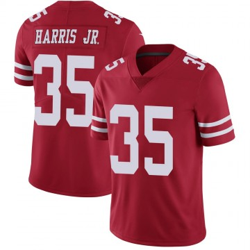 Youth Nike San Francisco 49ers Tim Harris Scarlet 100th Vapor Jersey - Limited