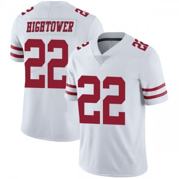 Youth Nike San Francisco 49ers Tim Hightower White Vapor Untouchable Jersey - Limited
