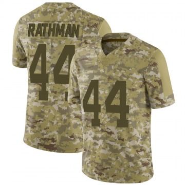 Youth Nike San Francisco 49ers Tom Rathman Camo 2018 Salute to Service Jersey - Limited