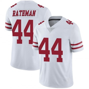 Youth Nike San Francisco 49ers Tom Rathman White Vapor Untouchable Jersey - Limited