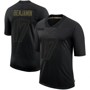 Youth Nike San Francisco 49ers Travis Benjamin Black 2020 Salute To Service Jersey - Limited