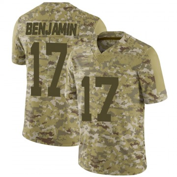 Youth Nike San Francisco 49ers Travis Benjamin Camo 2018 Salute to Service Jersey - Limited