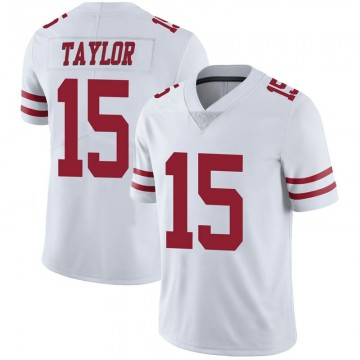 Youth Nike San Francisco 49ers Trent Taylor White Vapor Untouchable Jersey - Limited