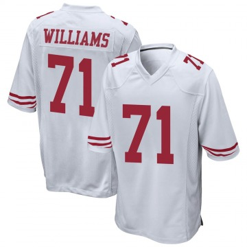 Youth Nike San Francisco 49ers Trent Williams White Jersey - Game
